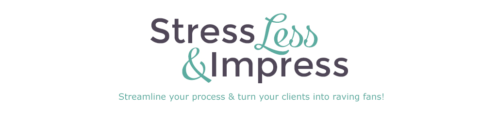Stress Less & Impress header image